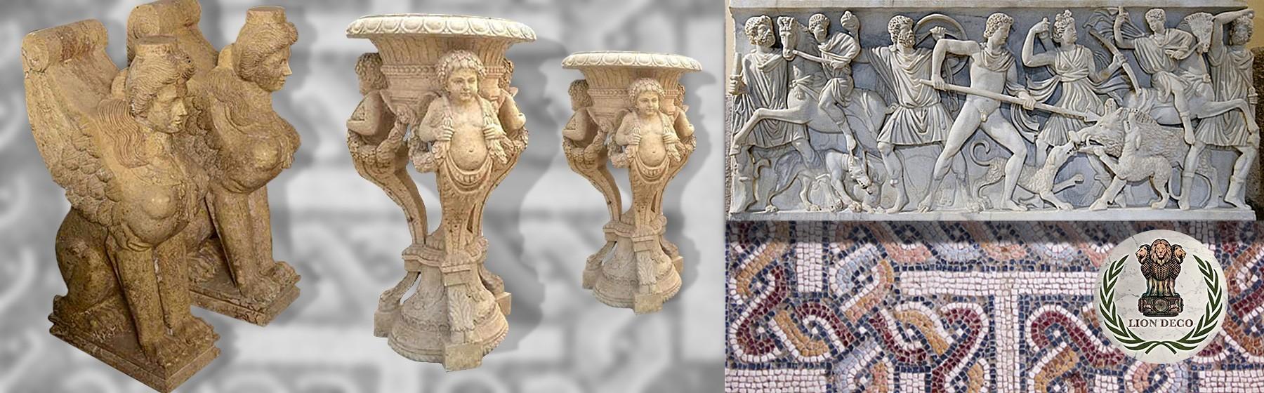 2. Elementos y Piezas Decorativas y Arquitectónicas