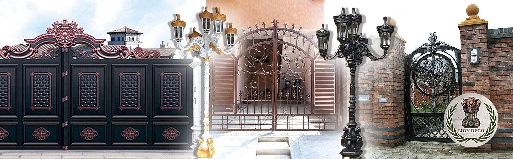 8. Cancelas, Puertas de Hierro y Farolas Artísticas