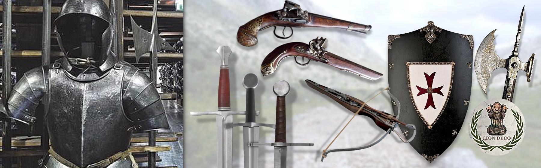 9. Réplicas de Armamento y Complementos Históricos